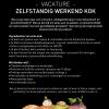 Zelfstandig werkend kok gezocht!